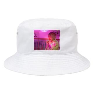 pink berry Lemuria Cinematic Bucket Hat