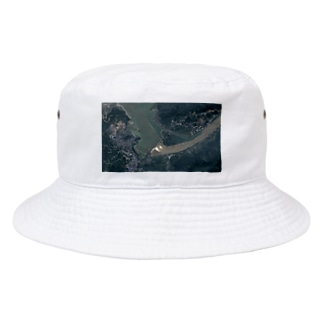 三峡ダム放水の図 Bucket Hat
