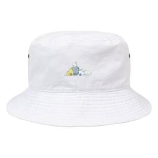 ドット絵インコたち Bucket Hat