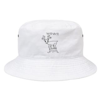 びっくりSHIKA Bucket Hat