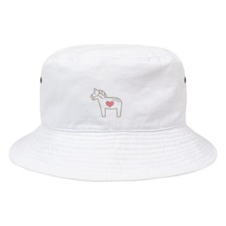 馬が大好き! Bucket Hat