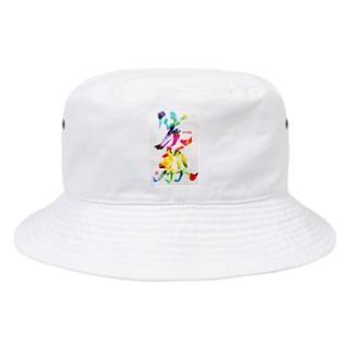 笑顔で過ごそう Bucket Hat