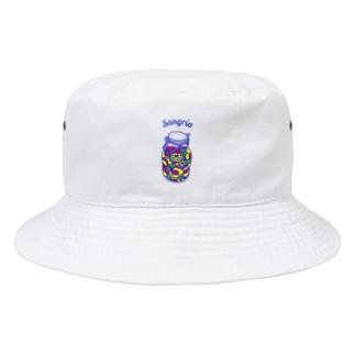 フルーツたっぷりサングリア Bucket Hat