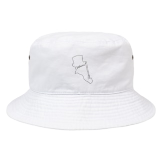 相棒.black Bucket Hat