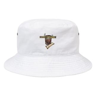 犬との食事 Bucket Hat