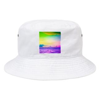 ブドウメローイエロー Bucket Hat