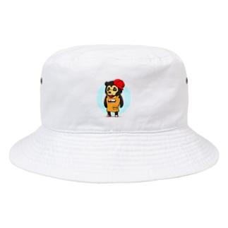 でふぉるめのみはえる(青マル) Bucket Hat