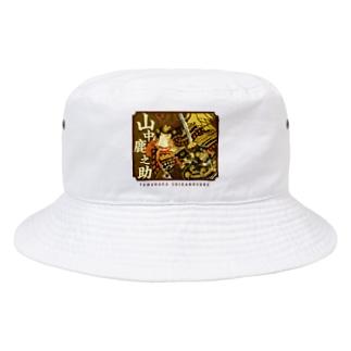 戦国武将 山中鹿之助  Bucket Hat