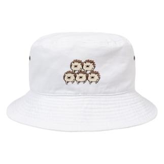 ハリネズミのれもさん【ピラミッド】 Bucket Hat