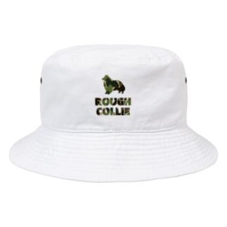ラフコリー 迷彩柄 Bucket Hat