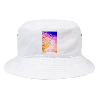 鉱物エメラルドサファイヤウルトラマリン Bucket Hat