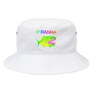 ピラニア Bucket Hat