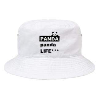 PANDA panda LIFE***ののぞきこみパンダ Bucket Hat