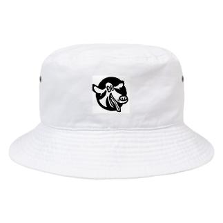 CRAZY DOG Bucket Hat