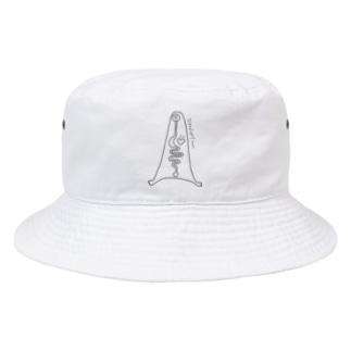 Translucent man Bucket Hat