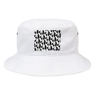 PANDA panda LIFE***のぞろぞろパンダ Bucket Hat