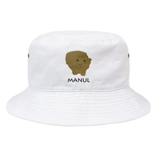 私は、マヌルネコがお好き。 Bucket Hat