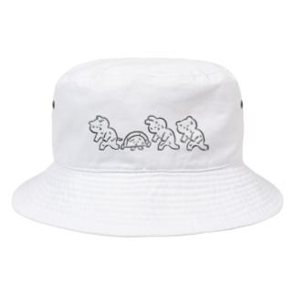 ぞんび Bucket Hat