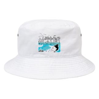 青池イラスト Bucket Hat