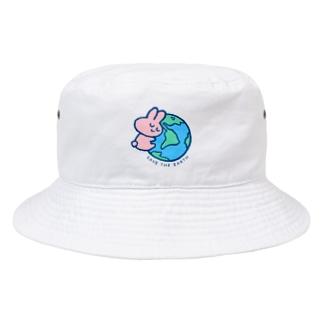 地球をまもる Bucket Hat