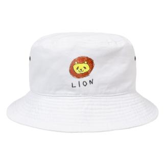ライオンのラインくん Bucket Hat