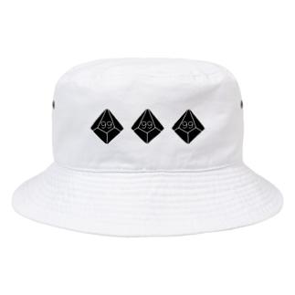 10面ダイス99b Bucket Hat