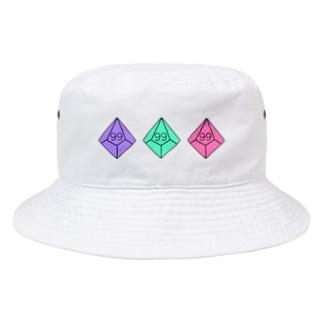 10面ダイス99c Bucket Hat