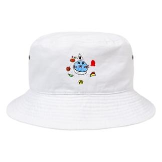 ふぐ弁当 Bucket Hat