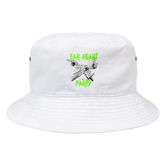 静恥クロス(EAR-HEART) Bucket Hat