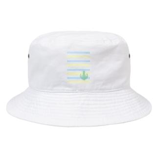 ジェラートラテアート /パイナップル×ブルーハワイ Bucket Hat