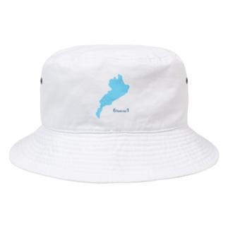 びわ湖は滋賀の6分の1 Bucket Hat