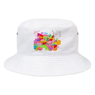 ゼリービーンズ Bucket Hat