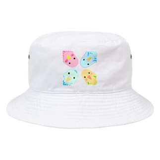インコのイラスト Bucket Hat