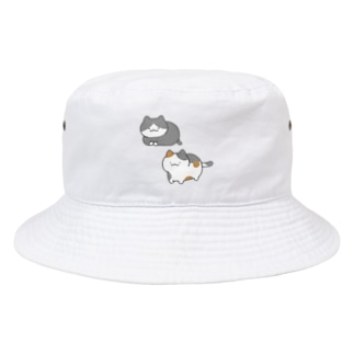 なかよしもちもちねこ Bucket Hat