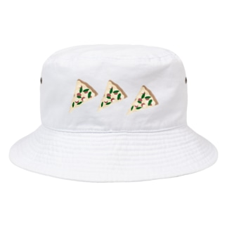 ピザを食べよう Bucket Hat