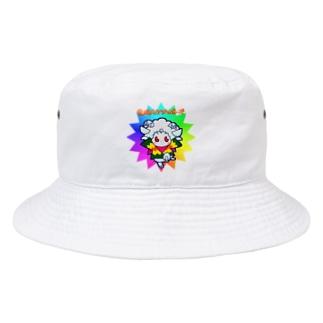 荒ぶるヒツジのポーズ Bucket Hat