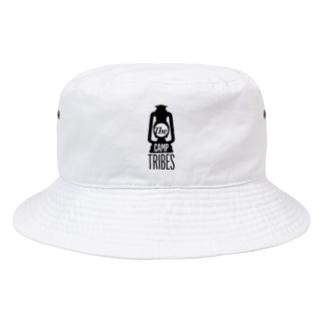 BK01. White letters Bucket Hat