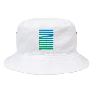 さりげなく三重を推す(縦)グラデ Bucket Hat