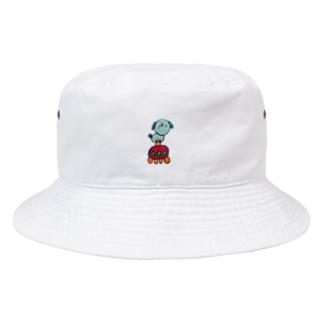 UFO vs 犬【セーフ】 Bucket Hat