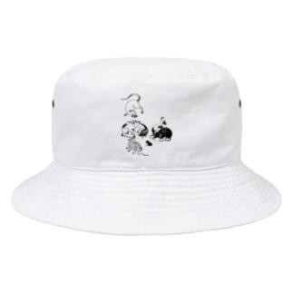ねずみ2 Bucket Hat
