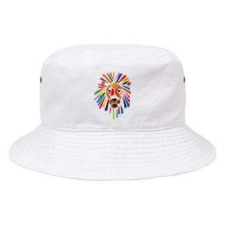 ビビッドライオン Bucket Hat