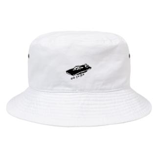 アワジトモミのOOTORO 大トロ Bucket Hat
