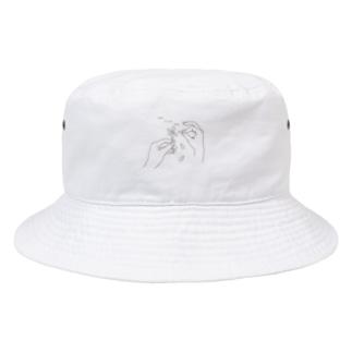 花占い suki kirai suki Bucket Hat