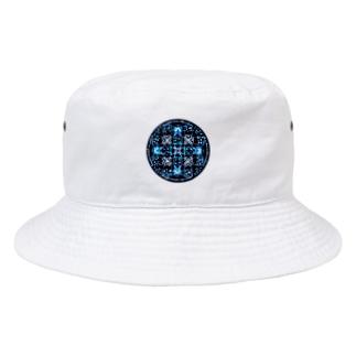 涼華-丸ver. Bucket Hat