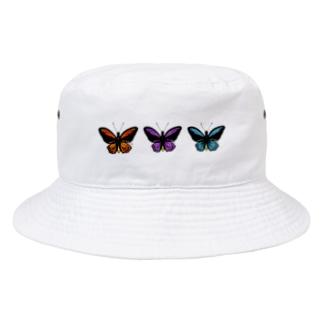 Butterfly (trio) Bucket Hat