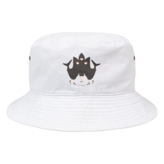 わたしたち!アイドルサメさん/背景なし Bucket Hat