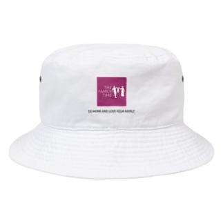 家族の時間(THE FAMILY TIME) ピンク Bucket Hat