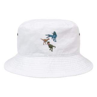 馬小屋の恐竜 Bucket Hat