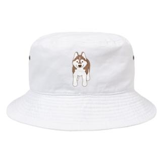 スタンダップハスキー3 Bucket Hat