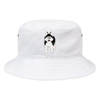 スタンダップハスキー4 Bucket Hat